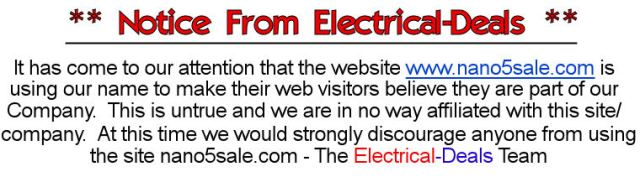 notice from electrotec